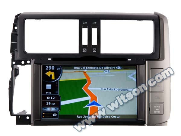 WITSON FOR TOYOTA PRADO 150 2010-2011 CAR DVD GPS with iPhone ready