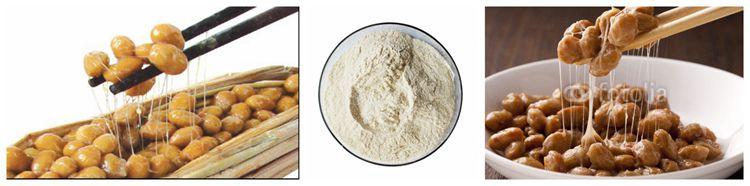 Xi`an SOST Natto Extract Organic Nattokinase Powder 20000 Fu Without K2