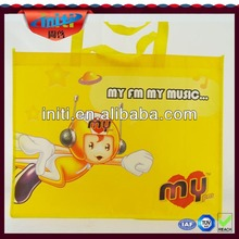Laminated nonwoven bag Photo printing nonwoven bag Fashion reusable shopping bag