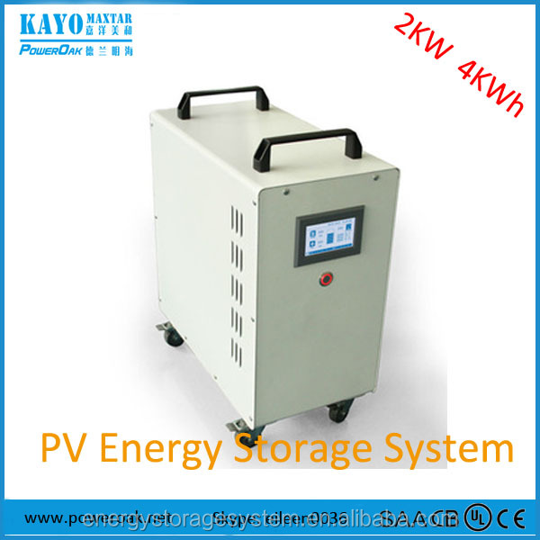 1KW, 2KW portable lithium solar power storage generator for home