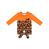 Baby Girl Long Sleeve Shirt Halloween Top Tie Knot Blouse