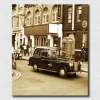 Custom canvas prints photo old car picture art printing