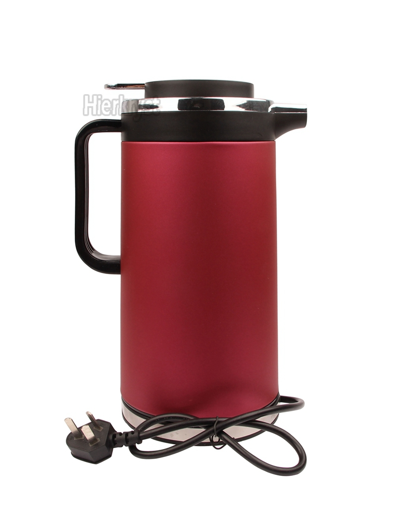 1.8L Electric EU Hot Water Stainless Steel Tea Kettle Cordless 220V 50HZ
