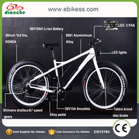 Promotional durable mountain fat tire excellent quality Low Carbon Economy electric bike for wholesale
