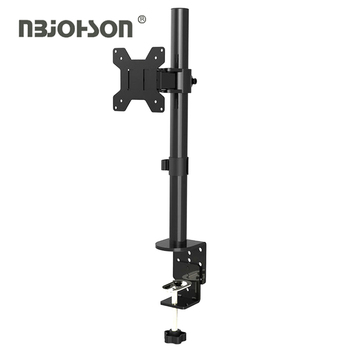 (LB-T010) High Quality 100*100 360 Degree Single Arm Desk Swivel LCD Monitor Mount
