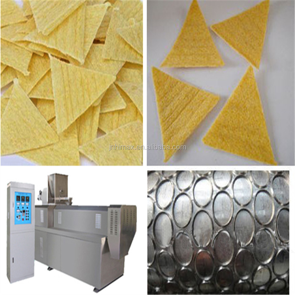 Professional Full-automatic Doritos Tortilla <strong>Corn</strong> Ships Machine