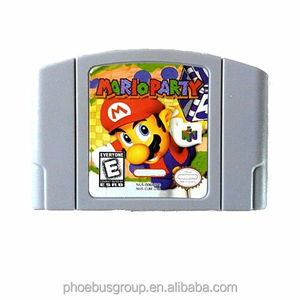 DHL free shipping NTSC and PAL version retro games n64 mario party 1 2 3