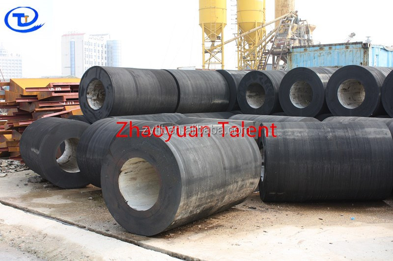 high performance ,high quality dock cylinder marine rubber fender manufacture for kuwait and brazil