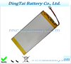 prismatic pouch polymer battery 703480 3.7v 2250mah li polymer battery for portable fax machines, medical equipment
