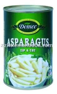 Canned Asparagus tip&cut, asparagus, canned vegetable, canned food