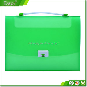 Candy Color Pp File Box Plastic Folder A4 Size