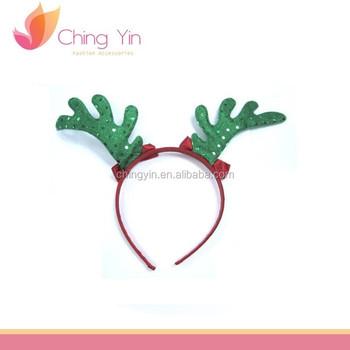 Cute Animal Christmas Deer Ears Headband Hair Band Accessories For Kids