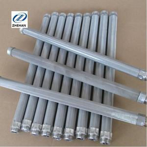 304 316 316Lstainless steel candle filter for efficient low moisture cake filtration