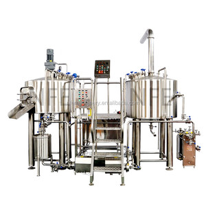 Easy operating100L 200L 500L home brewing small beer mash system mini brewery equipment for sale