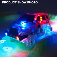 NEW ITEM Glowing Magical Tracks Replace Car Toys With 5 LED Lights
