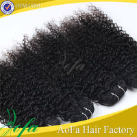Popular selling wholesale heat resistant synthetic curly hair weave