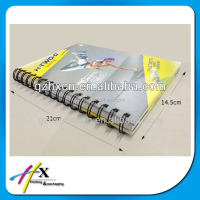 full coloring notebook printing , comice spiral binding book printing