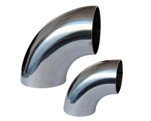 304 316 321 stainless steel elbow 180 90 45 60 30 15 degree manufacturer