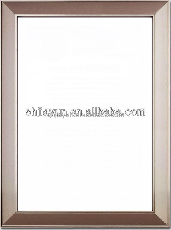 Profilo in alluminio per cornici per foto vetro porta for Cornici per piastrelle bagno