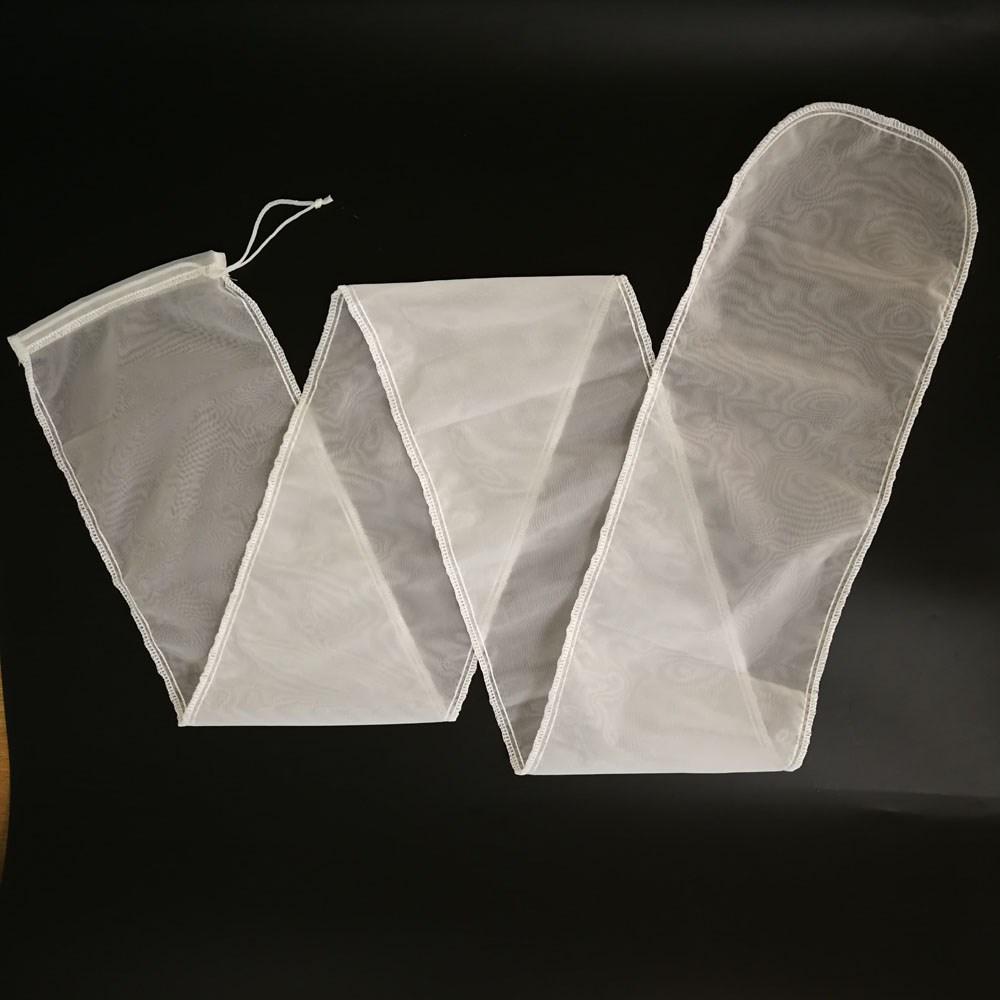 nylon mesh 11x44inch Drawstring 100 micron filter bag used in filter
