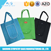 Reusable Carrying Shopping Grocery packaging tote pp non woven bag