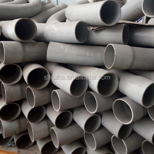 Polyvinyl chloride electrical conduit pipe pvc bend
