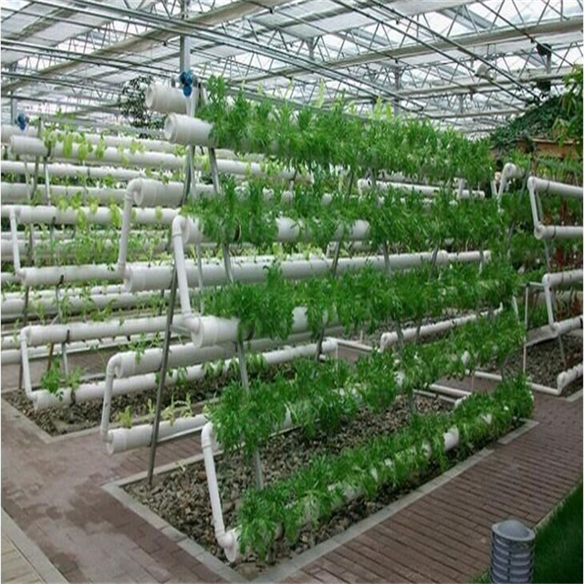 Sp-Ht PVC pipe NFT Hydroponics Growing Tower system for Greenhouse