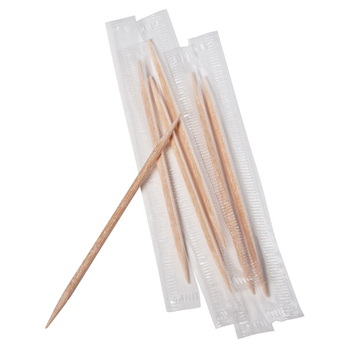 White PP Wrapped Wooden Toothpicks /Bamboo Toothpicks