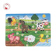 Farm animals sound musical puzzle toys for kids