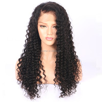 full saxy image kinky curly 360 lace frontal wig cap for small size head double drawn 360 lace frontal wig pre-plucked hot in UK