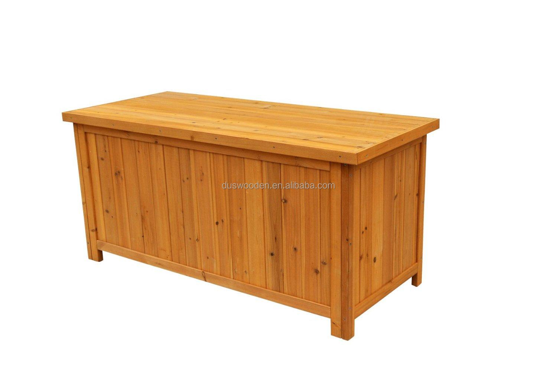 2014 hot solid wood deck storage box buy storage box
