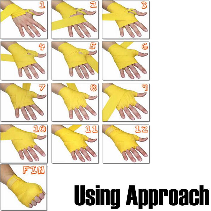 how to make hand wraps
