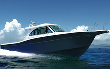 trawler luxury 38 Square fishing yacht