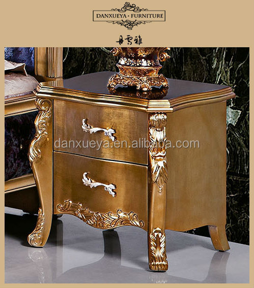 Italy Luxury Classical Golden Color Royal Furniture , Antique ...