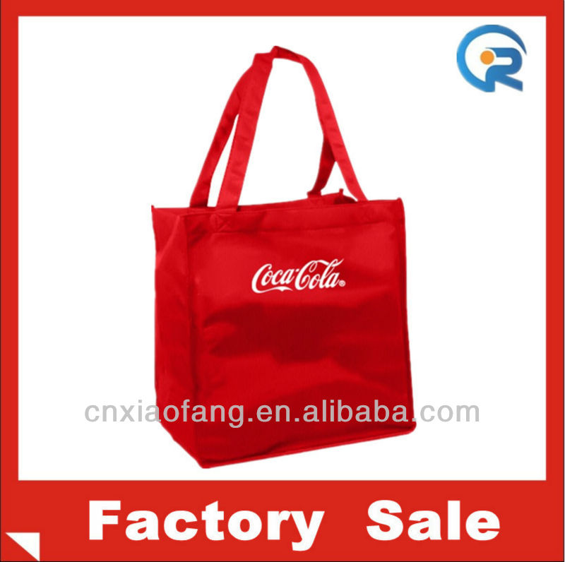 Factory customize reusable shopping bags with logo(RC-070402)