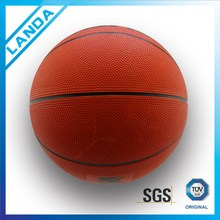 custom rubber official size 6 basketball