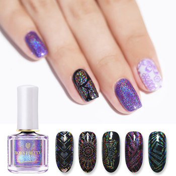 Fashion Trend Laser Colors Professional  Nail Stamping Gel Polish
