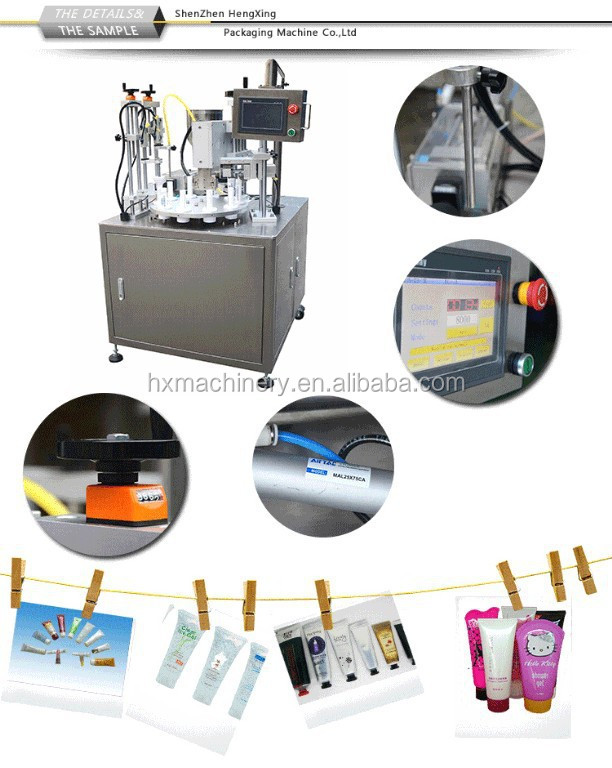 Automatic Tube Ultrasonic Filling And Sealing Machine For Toothpaste