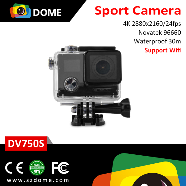 HK Fair hot selling Dual screens 4K starlight night vision sport dv 1080p manual action camera