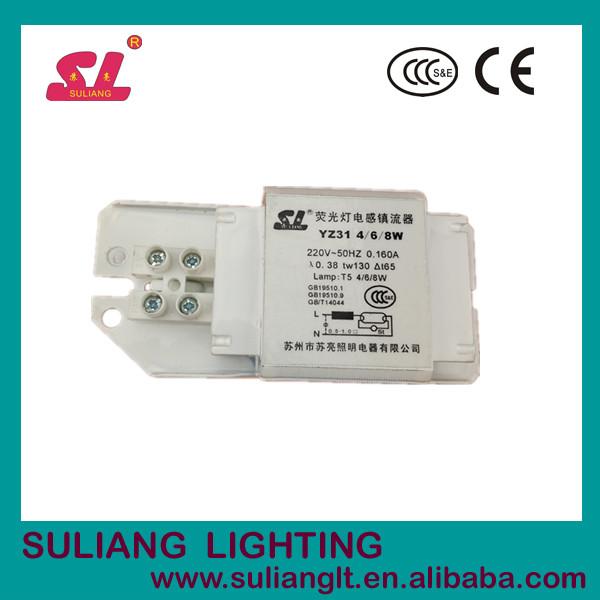 Energy-saving Fluorescent Lamp Ballast 4w 6w 8w Ballast