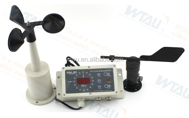Wind Speed Indicator For Cranes : Wind speed and direction sensor for tower crane buy
