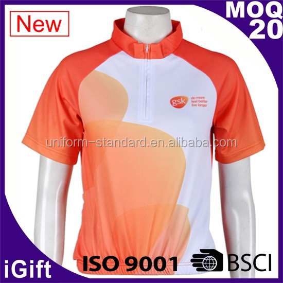 FAMA factory Polyester Brushed Cycling Jersey