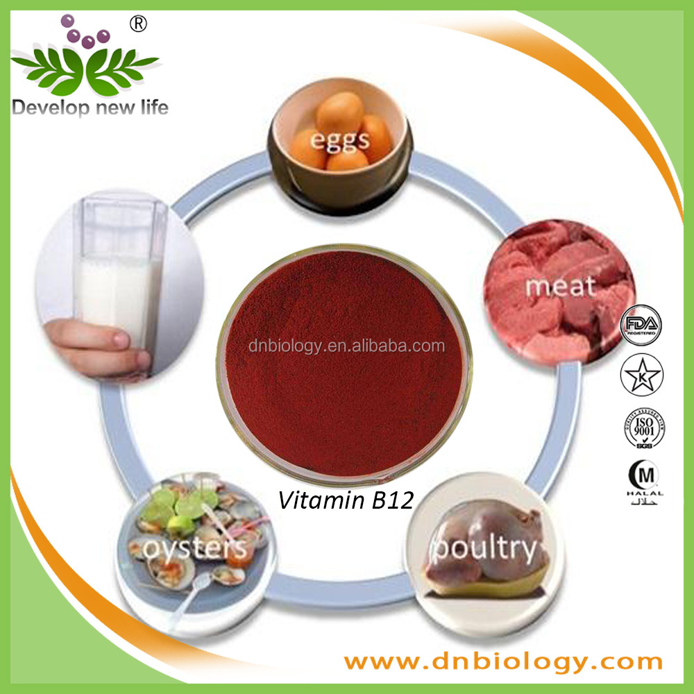Health Care Raw Material Vitamin B12 Red White Powder