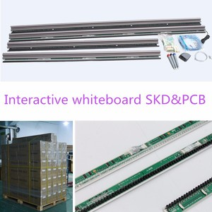 USB interactive whiteboard activboard, active panel with teaching software
