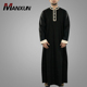 New Arrival Kurta Designs Muslim Men Thobe Simple Style Fashion Button Dubai Thobe Islamic Clothing