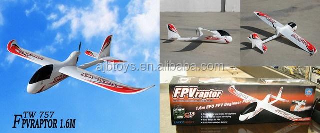 2.4g 4channel Epo Foam Rc Plane At-6 Texan Tw 749-2 Radio Control ...