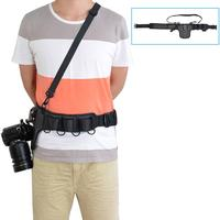 Single-Reverse Camera Fast Gunner Belt Single-Dual Decompression Camera Belt Buckle Multifunctional Camera Belt For Photographer