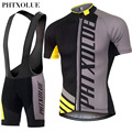 PHTXOLUE Cycling Clothing Quick Dry Mtb Bike Jersey Set Bicycle Cyle Clothes Wear Roupa Ciclismo Summer