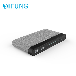 New products 2018 innovative Fabric power bank 10000mAh wholesale