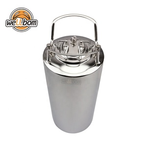 Stainless Steel Ball Lock Cornelius Beer Keg 6L/10L/19L/24.5L Factory Price Homebrew